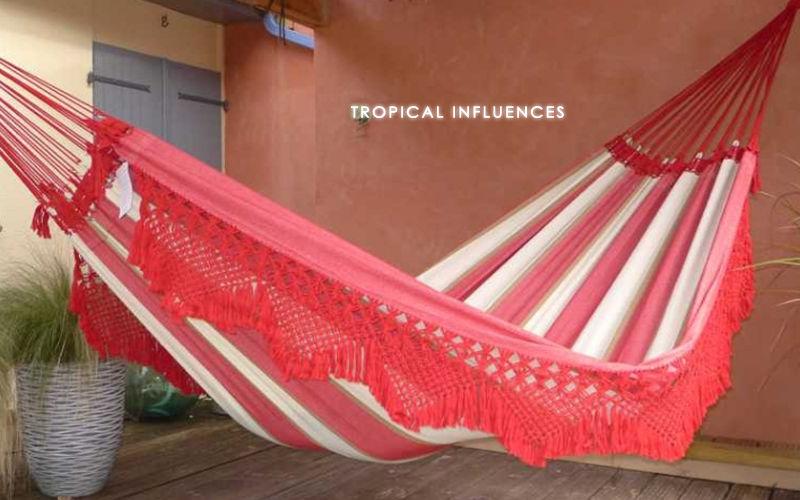 Hamac Tropical Influences Hamaca Hamacas Jardín Mobiliario  |