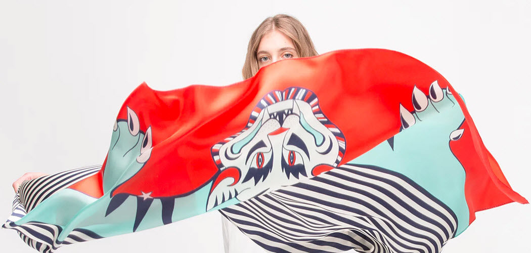 AN-NEE Fulard Prendas de vestir Mas allá de la decoración  |