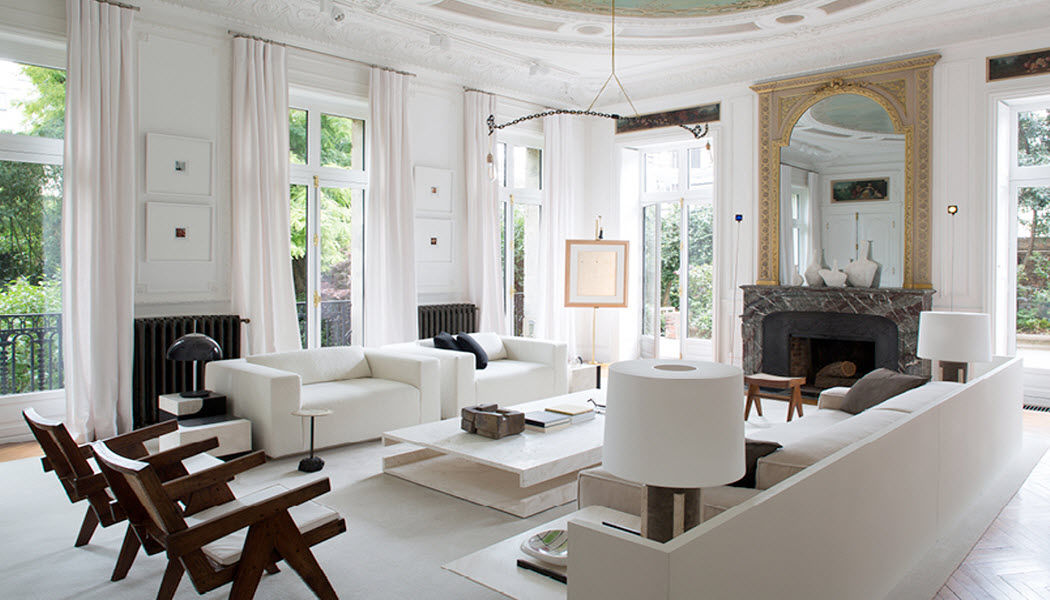 STEPHANE PARMENTIER Realización de arquitecto Realizaciones de arquitecto de interiores Casas isoladas  |