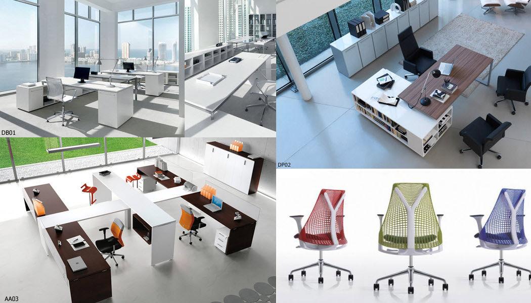 ID.Bureaux Mobilier & Agencement Open space Mesas y escritorios Despacho  |