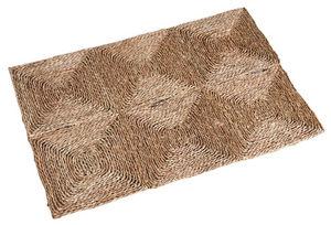 Aubry-Gaspard - tapis rectangulaire en jonc - Alfombra Contemporánea