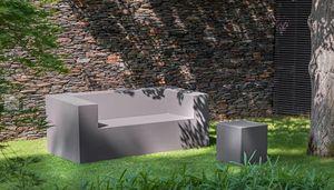 Fischer Mobel - Sofá para jardín