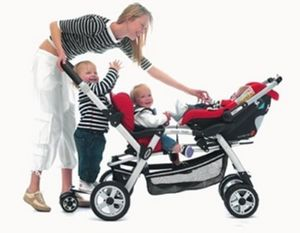 Silla de paseo para niño