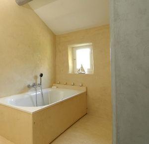 Cemento pulido pared