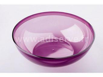 Adiserve - coupelle ou bol aubergine violet par 4 - Cuenco Para Aperitivo