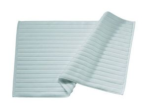 BLANC CERISE - tapis de bain céladon - coton peigné 1000 g/m² - Alfombra De Baño