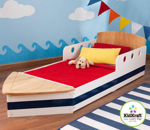 KidKraft - lit pour enfant bateau 184x81x51cm - Cama Para Niño