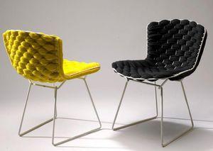 CLEMENT BRAZILLE - bertoia chair revisité- - Silla