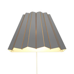 & BROS - compleated - applique carton gris l40cm | applique - Lámpara De Pared