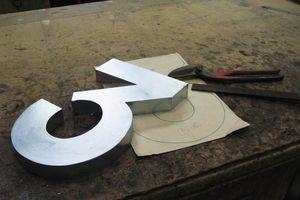 Arzinc -  - Números Decorativos