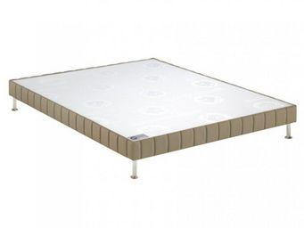Bultex - bultex sommier tapissier confort ferme daim 90*20 - Canapé Con Muelles
