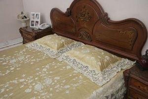 PASSION HOMES BY SARLA ANTIQUES - king size bed cover set - Cubrecama