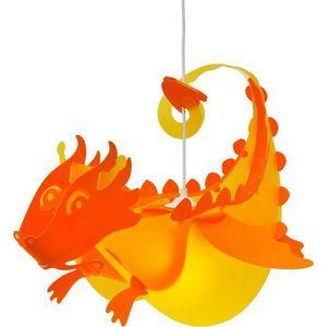 Rosemonde et michel  COUDERT - dragon - Lámpara Colgante Para Niño