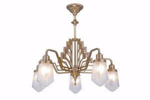 PATINAS - linz 5 armed chandelier - Araña