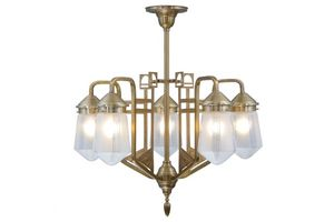 PATINAS - luzern 5 armed chandelier - Araña