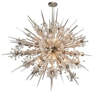 ALAN MIZRAHI LIGHTING - dv3940 crystal starburst - Araña