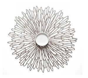 CHILEWICH - --bloom round - Mantel Individual
