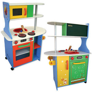 Andreu-Toys - cocina americana - Mueble De Muñeca