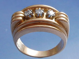 Bijouterie Bottazzi Blondeel PARIS - tank - Anillo