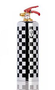 DNC TAG - damier chrome - Extintor
