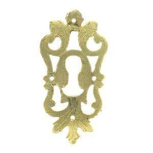 FERRURES ET PATINES - entree de meuble en bronze grave style louis xiv - - Entrada De Mueble