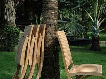 COMPTOIR D'OUTREMER - chaise de jardin - Silla De Jardín Plegable
