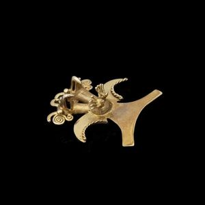 Expertissim - pendentif fétiche en or - Colgante