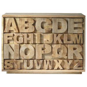 Maisons du monde - alphabet - Bargueño