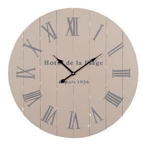 Maisons du monde - horloge bord de mer - Reloj De Cocina