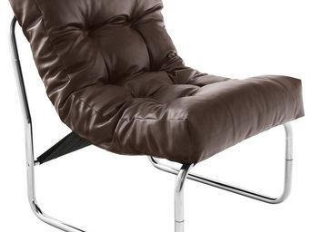 Alterego-Design - fauteuil lounge 'loft' brun - Sill�n Bajo
