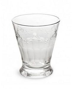 Rosanna - etched glass french bistro - Vaso