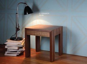 HMD INTERIORS - g 1 drawer side table - Mesa De Sofá