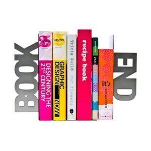 Present Time - serre-livres book end - Revistero