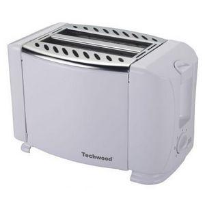 TECHWOOD - grille pain blanc design - Tostador