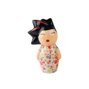 Present Time - tirelire japonaise blanche - Hucha