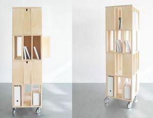 MALHERBE EDITION - building 4m - Mueble De Estanterías Móvil