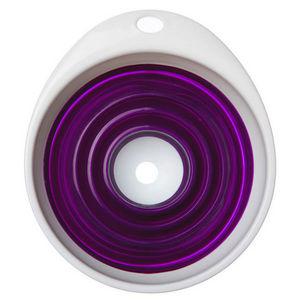 WHITE LABEL - entonnoir pliant en silicone - Embudo