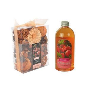 WHITE LABEL - pot pourri recharge liquide de parfum pêche fraîch - Perfume De Interior
