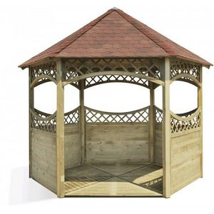 JARDIPOLYS - tonnelle kiosque red en pin jardipolys - Quiosco
