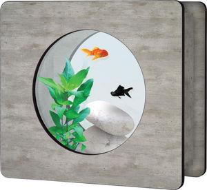 ZOLUX - aquarium aqua vision 1 imitation béton ciré 6 litr - Acuario