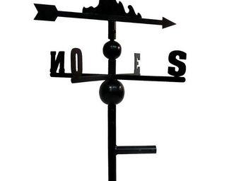 BARCLER - girouette mouette en fer forgé 91x47x47cm - Veleta