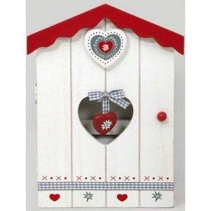 FAYE - boîte à clés coeur - Armario De Llaves