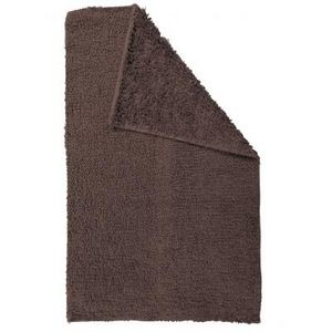 TODAY - tapis salle de bain reversible - couleur - marron - Alfombra De Baño