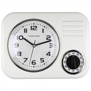La Chaise Longue - horloge minuteur blanc - Minutero