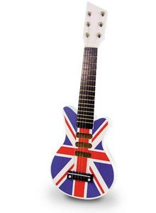 Vilac - rock union jack - Guitarra Niño
