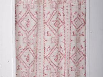 Coquecigrues - paire de rideau plissé fortuna - Cortina Confeccionada
