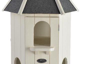 Esschert Design - pigeonnier blanc pigeons domestiques - Casa De Pájaros