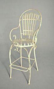 Demeure et Jardin - fauteuil bar elégance - Silla Alta