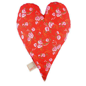 ROSSO CUORE - seeds pillow cuore - Reposacabezas