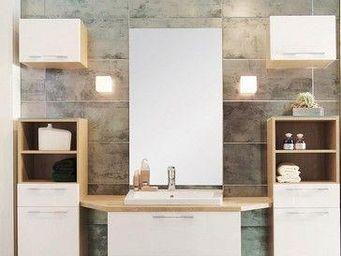 UsiRama.com - meuble sdb design multi-fonctionnel avec - Mueble De Baño Dos Senos